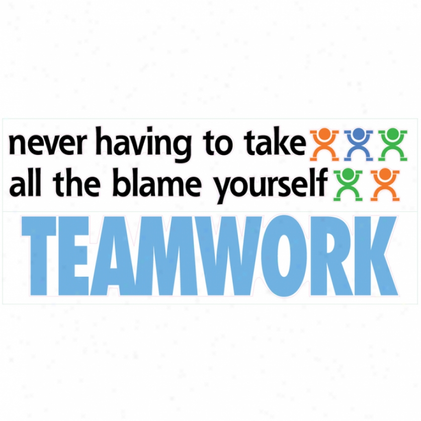 Teamwork Wall Decals