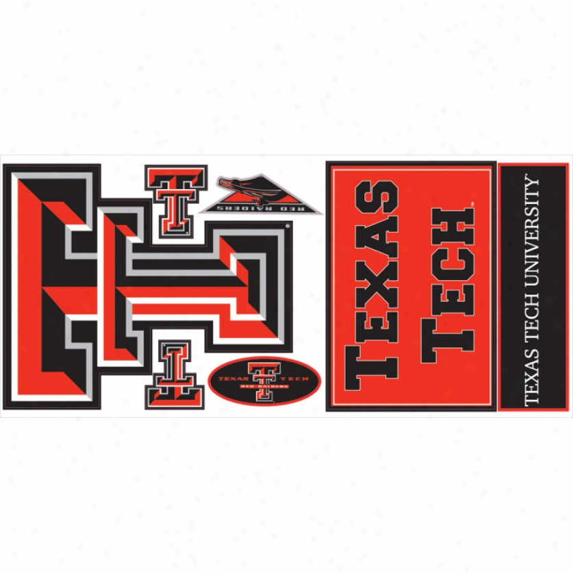 Texas Tech University Giant Wall Decalls