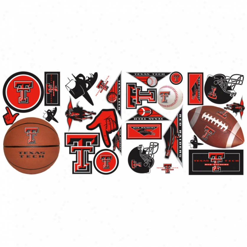 Texas Tech University Wall Decals