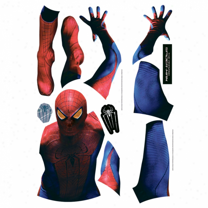 The Amazing Spider-man Giant Wall Decal
