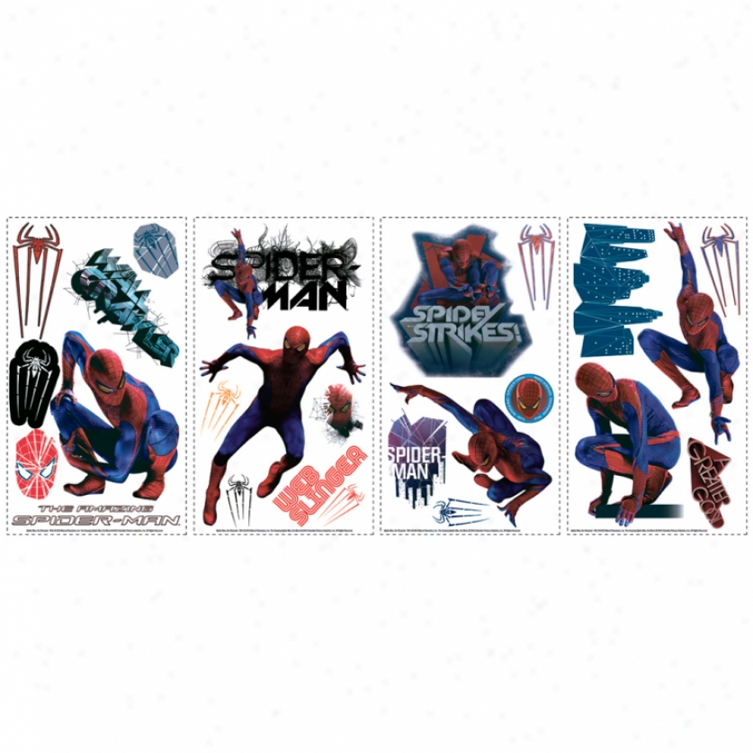 The Amazing Spidr-man Wall Decals