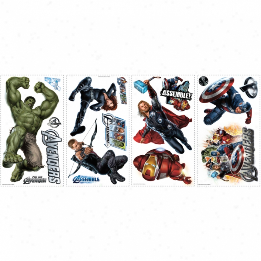 The Avengers Wall Decals