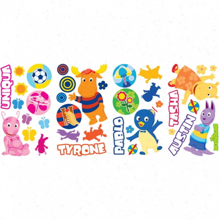 The Backyardigans Wall Decals