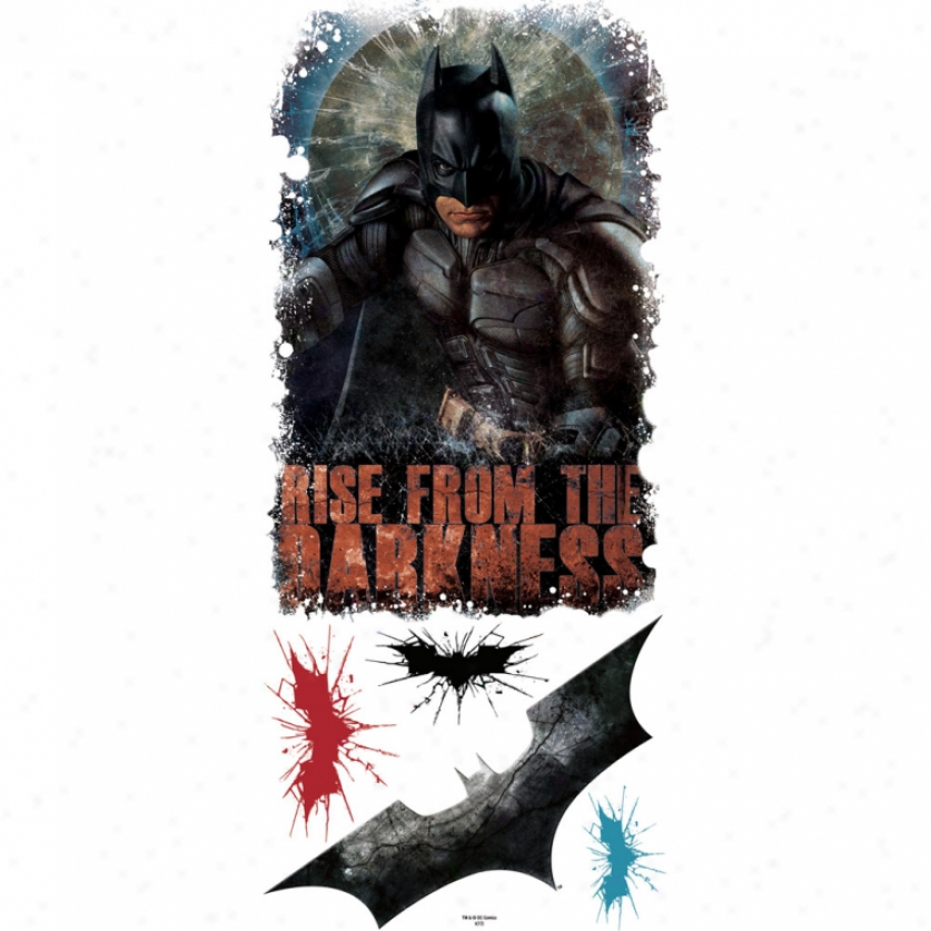 The Dark Knight Rises(tm) Darkness Giant Wall Decal