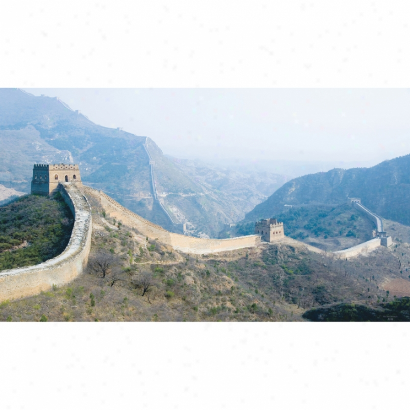 The Great Wall Xl Wallpaper Mural 10.5' X 6'