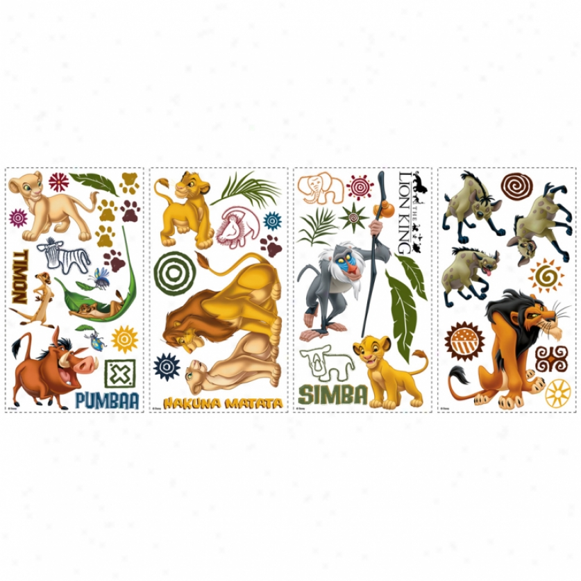 The Lion King Wall Decals