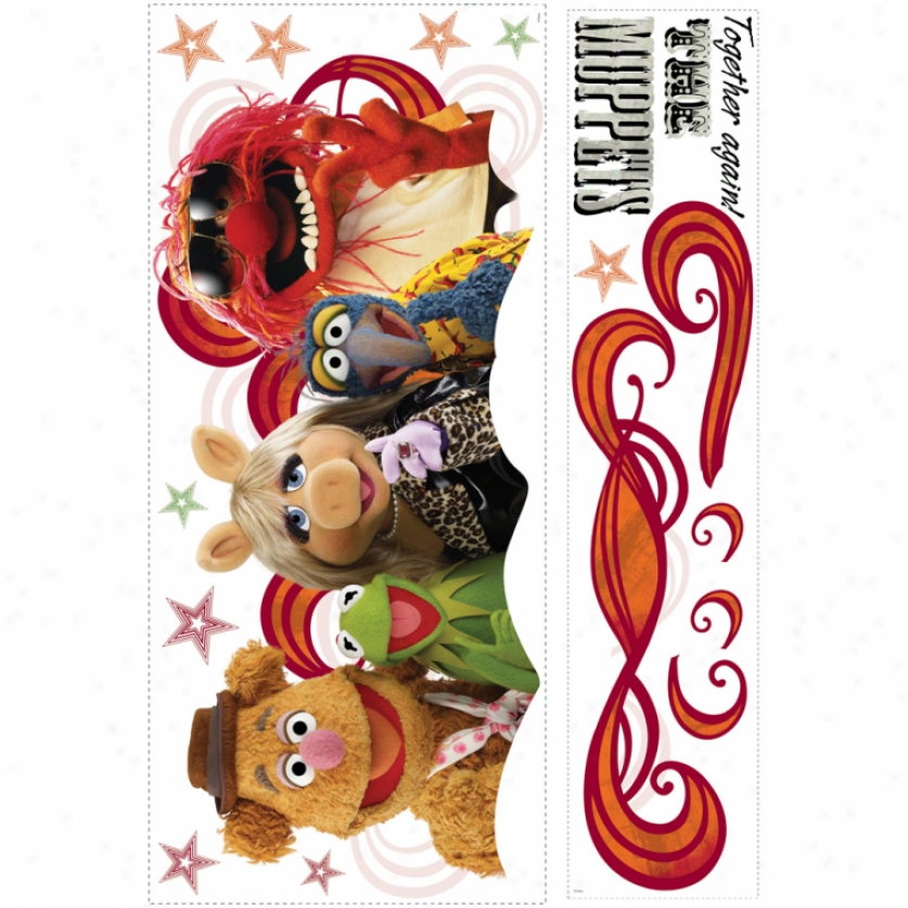 The Muppets Collage Giant Wall Decals