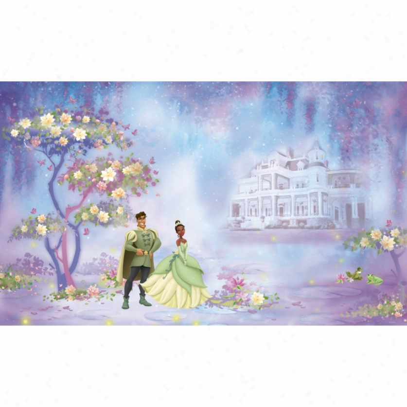 The Princess And Tge Frog Xl Wallpaper Mural 10 .5' X 6'