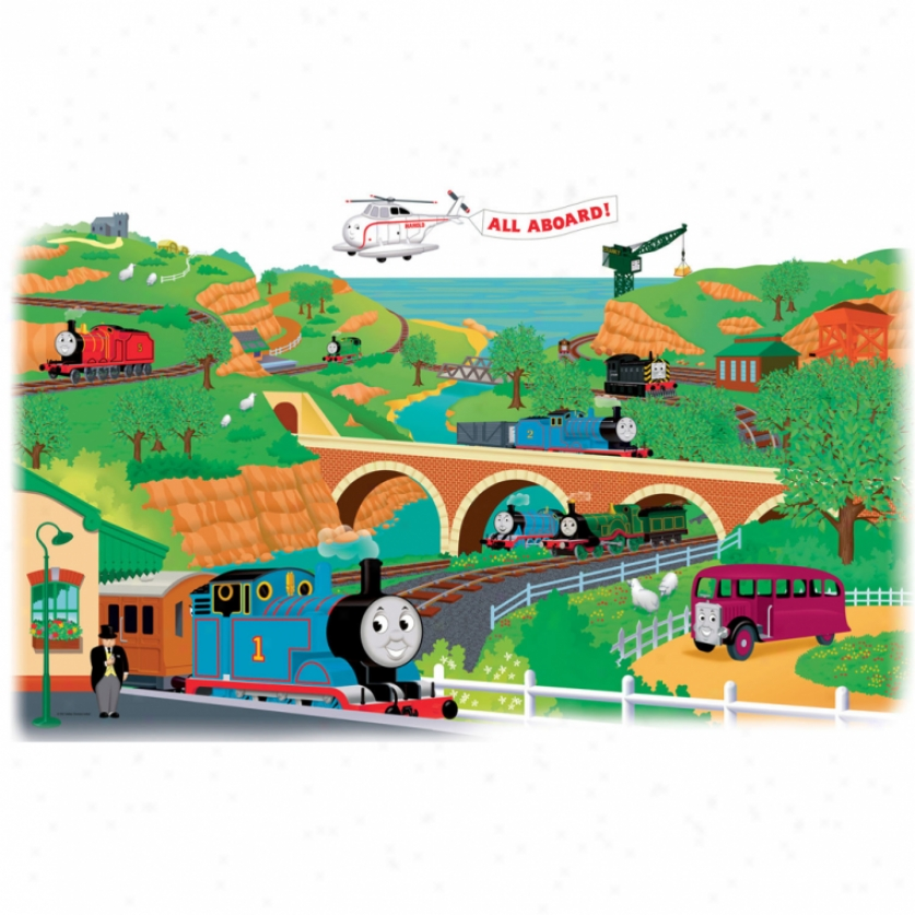 Thomas & Friends Giant Wall Decal