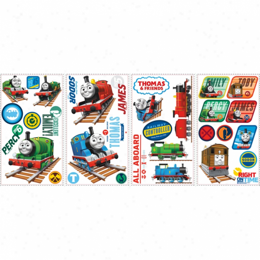 Thomas The Tank Engine(tm) Wall Decals