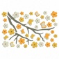 Blossom Branch Foam Wall Decals