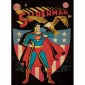 Superman(tm) Patriotic Comic Coved Giant Wall eDcal