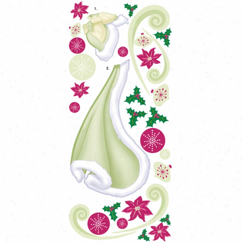 Tiana Holiday Add-on Wall Decals