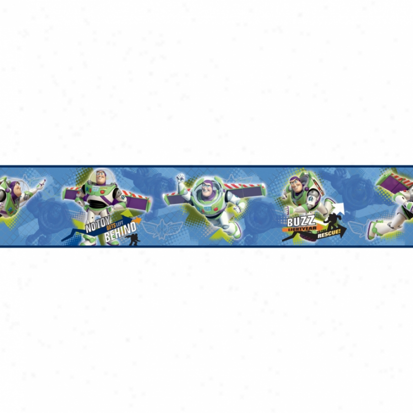 Toy Story To The Rescue Prepasted Wallpaper Border