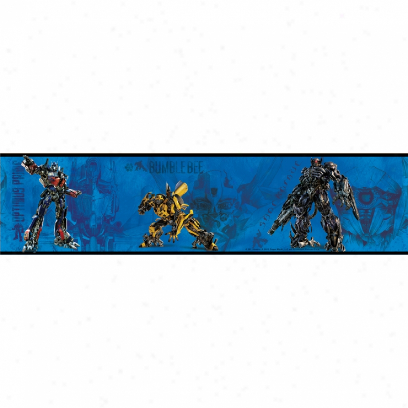 Transformers: Dark Of The Moon Peel & Stick Border