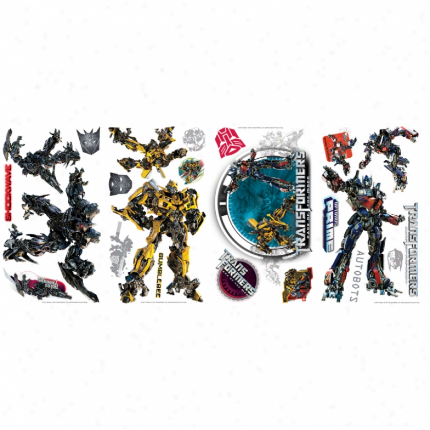 Transformers: Dark Of The Moon Wall Decals