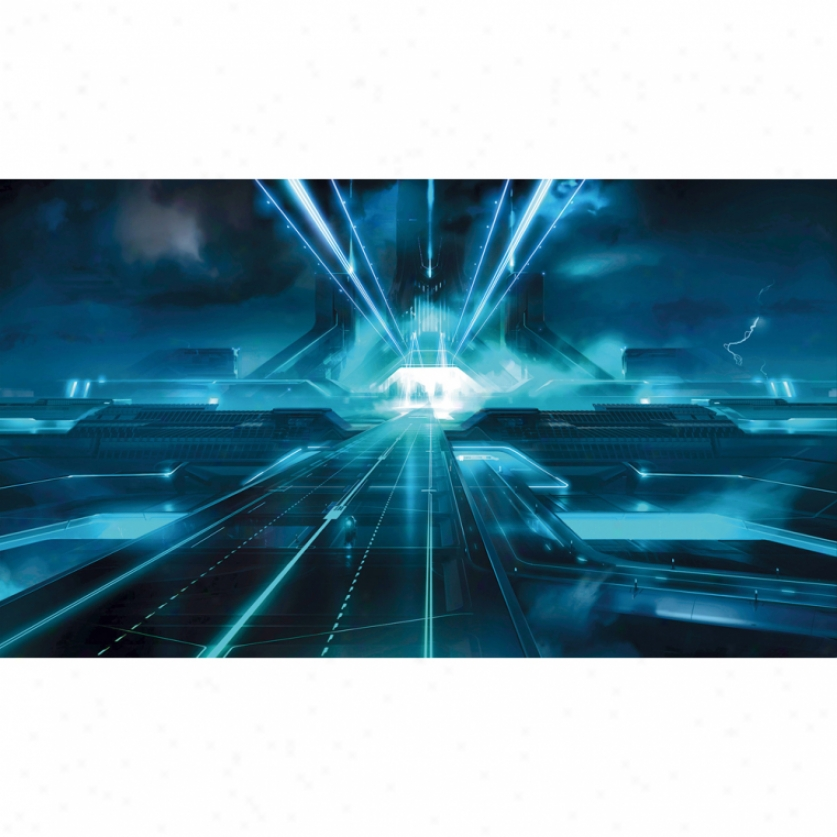 Tron: Legacy Xl Wallpaper Mural 10.5' X 6'