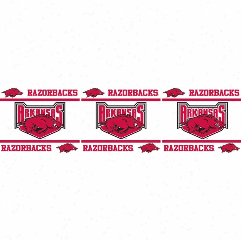 University Of Arkansas Peel & Stick Border