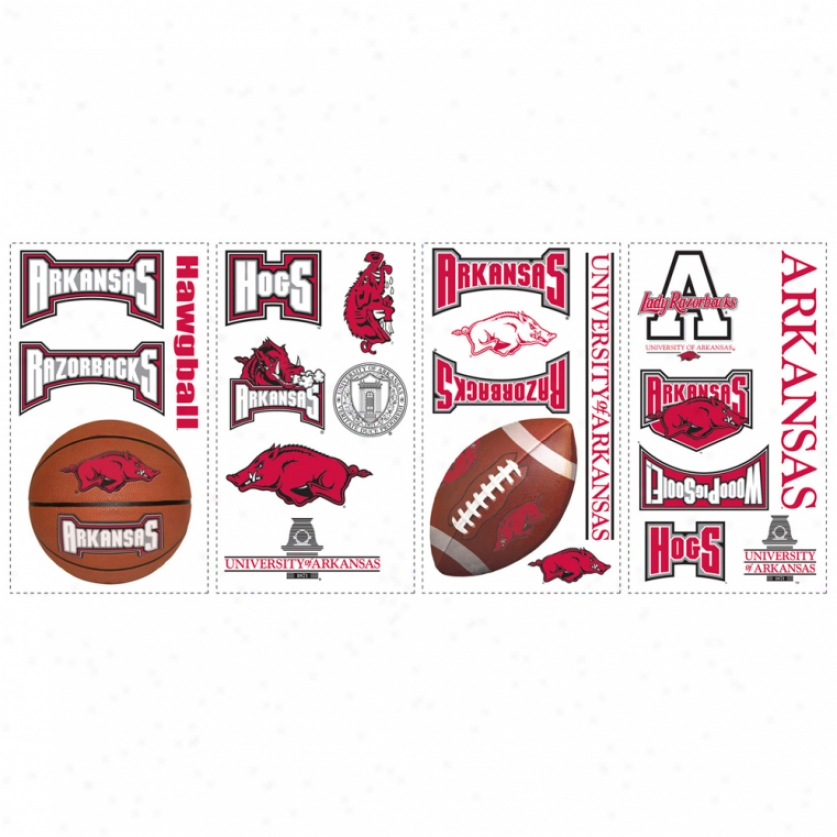 University Of Arkansas Wall Decals