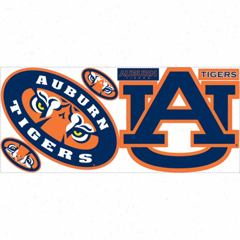 University Of Auburn Giant Wall Decals