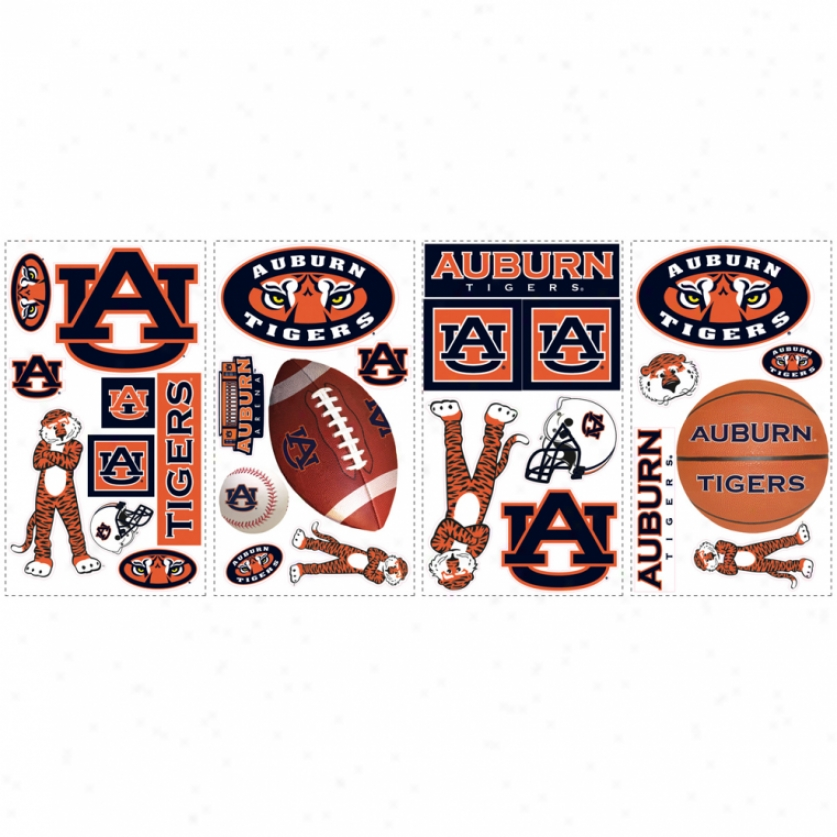 University Of Auburn Wall Decals