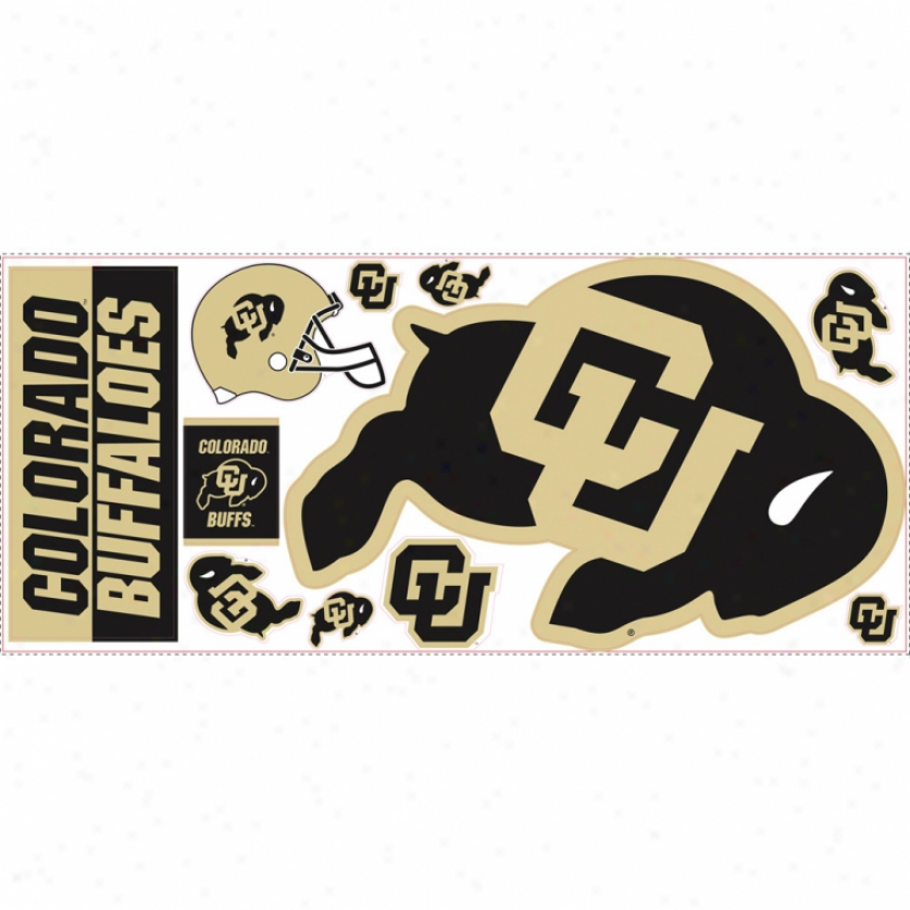 University Of Colorado Giant Wall Decals