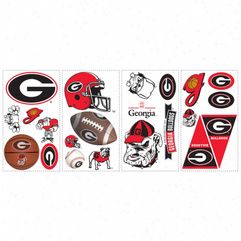University Of Georgia Wall Decals
