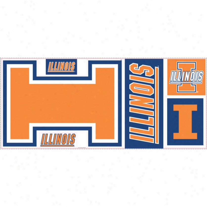 University Of Illinois Giant Wall Decals