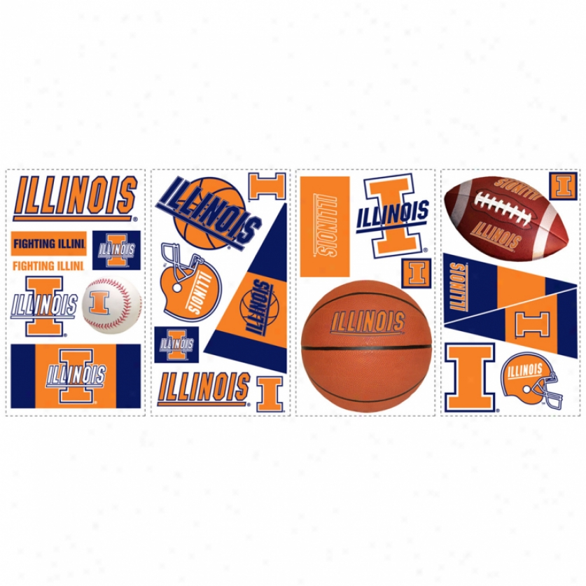 University Of Illinois Wall Decals