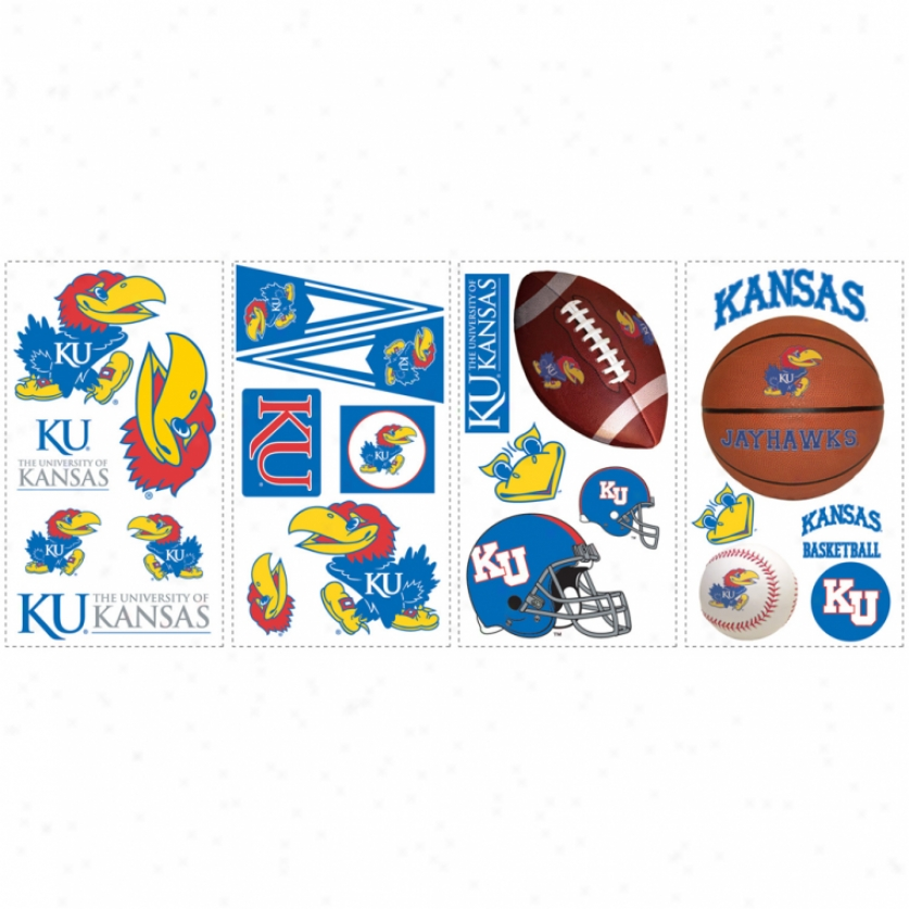 University Of Kansas Wall Decals