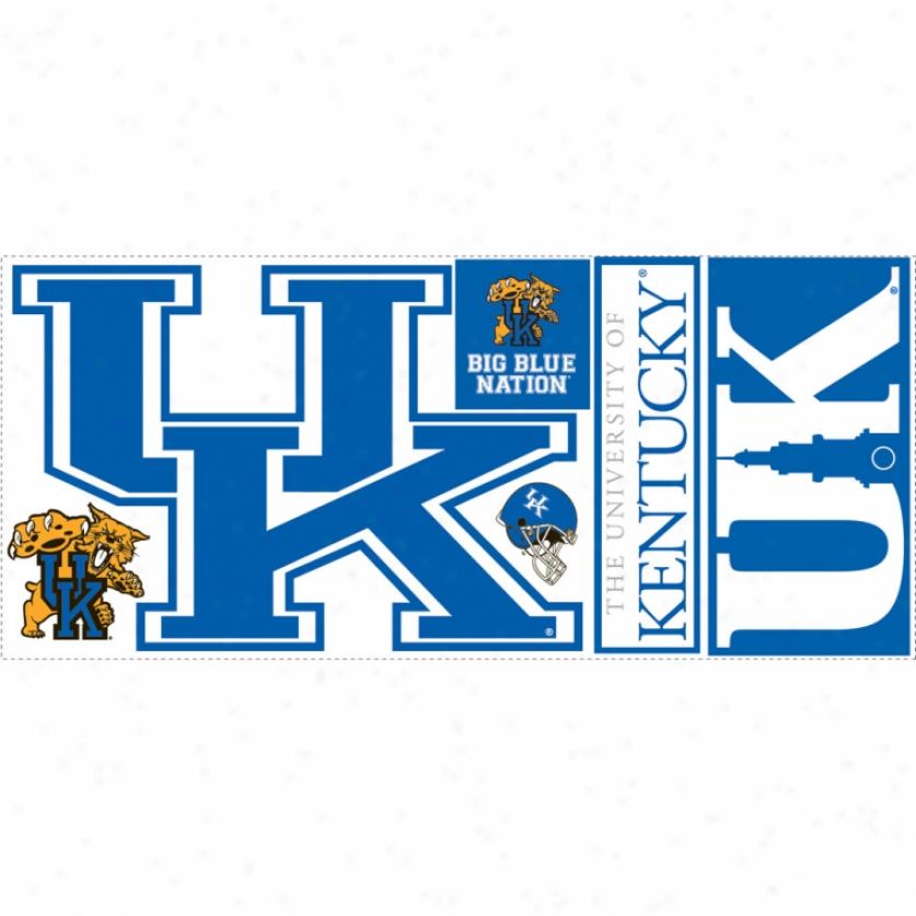 University Of Kentuxky Giant Wall Decal
