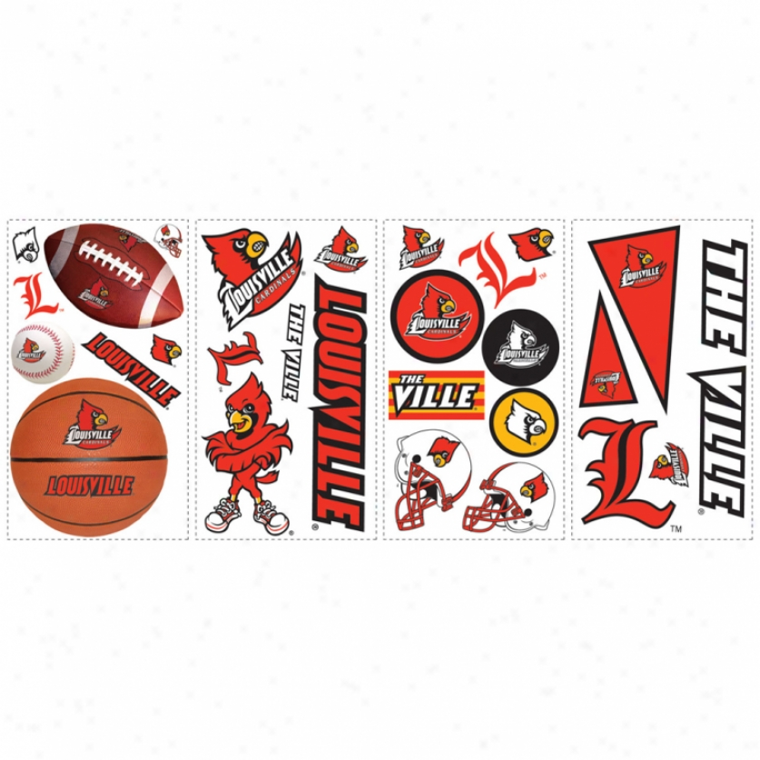 University Of Louisville Wall Decals