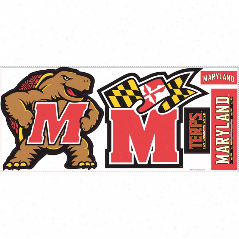 University Of Maryland Giant Wall Decals