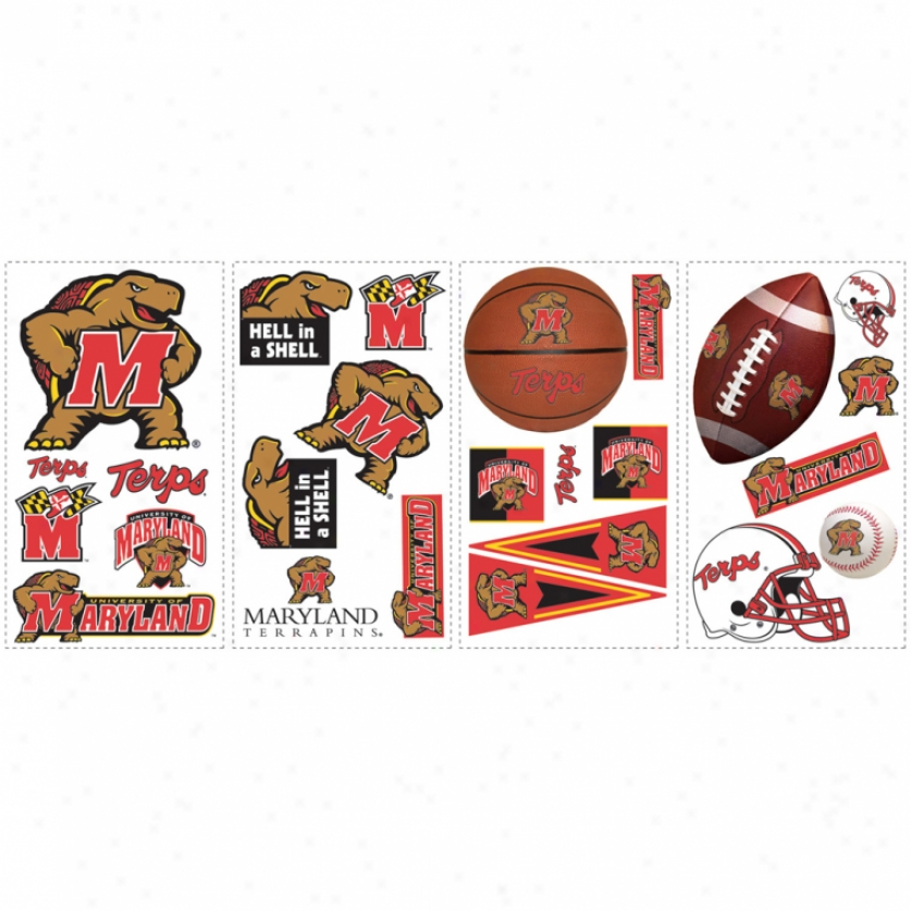 University Of Maryland Wall Decals