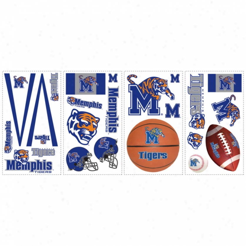 University Of Memphis Wall Decals