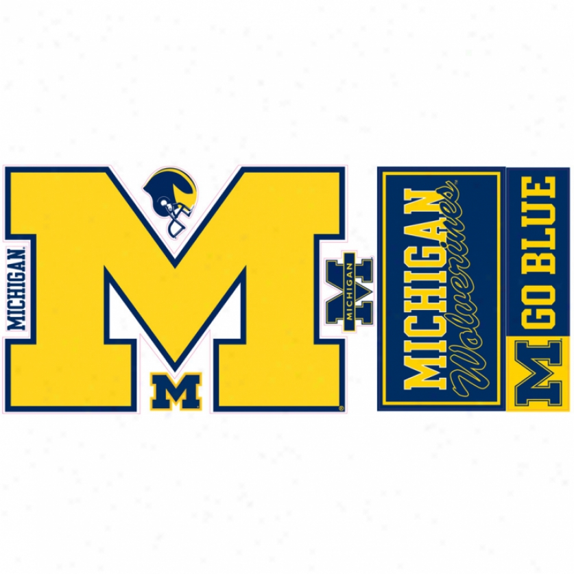 University Of Michigan Giant Wall Decal