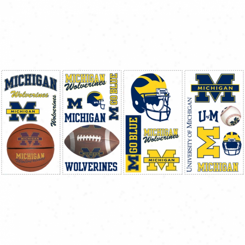 University Of Michigan Wall Decals