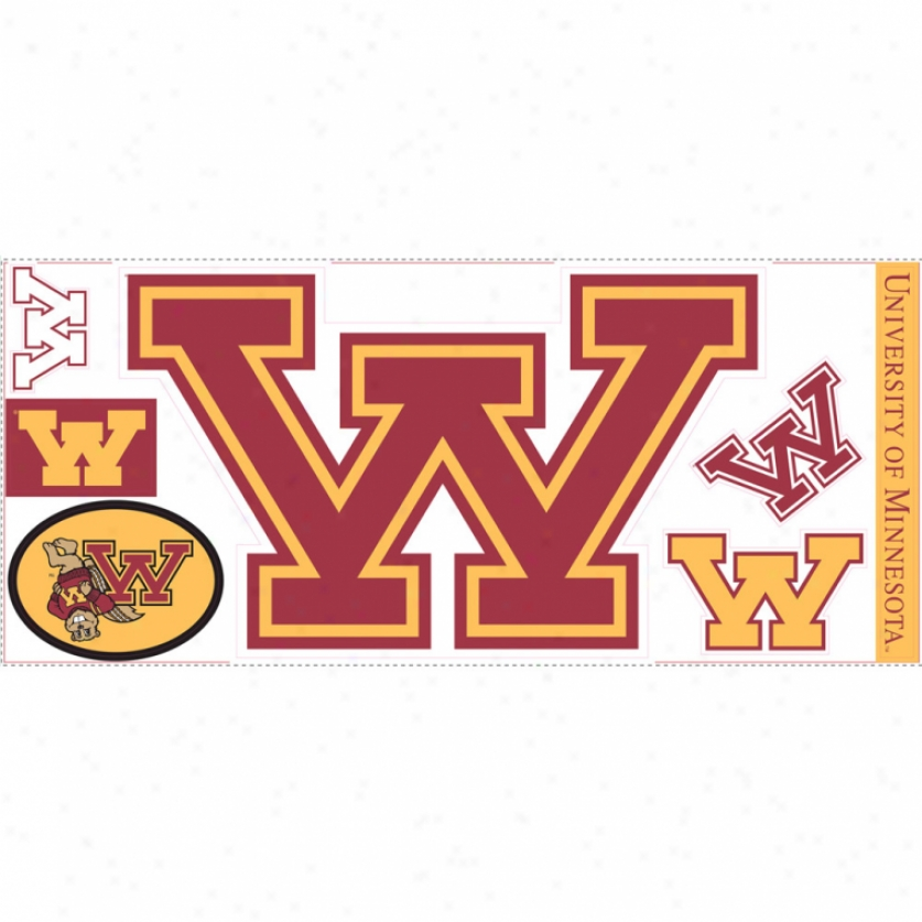 University Of Minnesota Giant Wall Decal