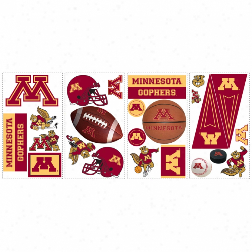 University Of Minnesota Wall Decals