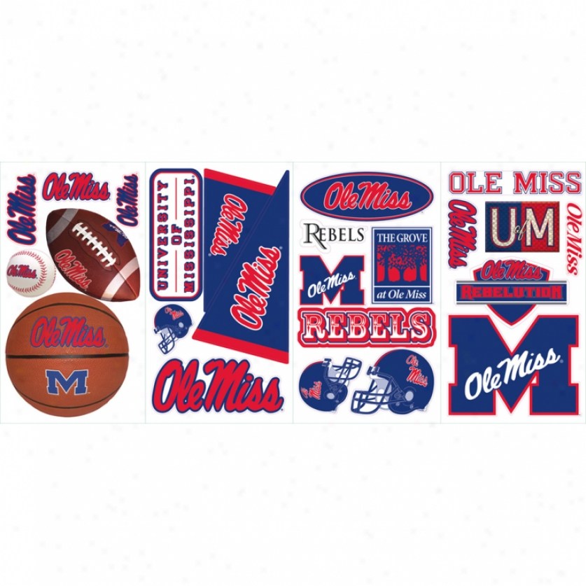 University Of Mississippi Wall Decals