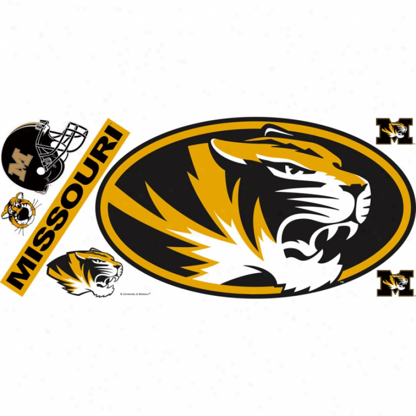 University Of Missouri Giant Wall Decals