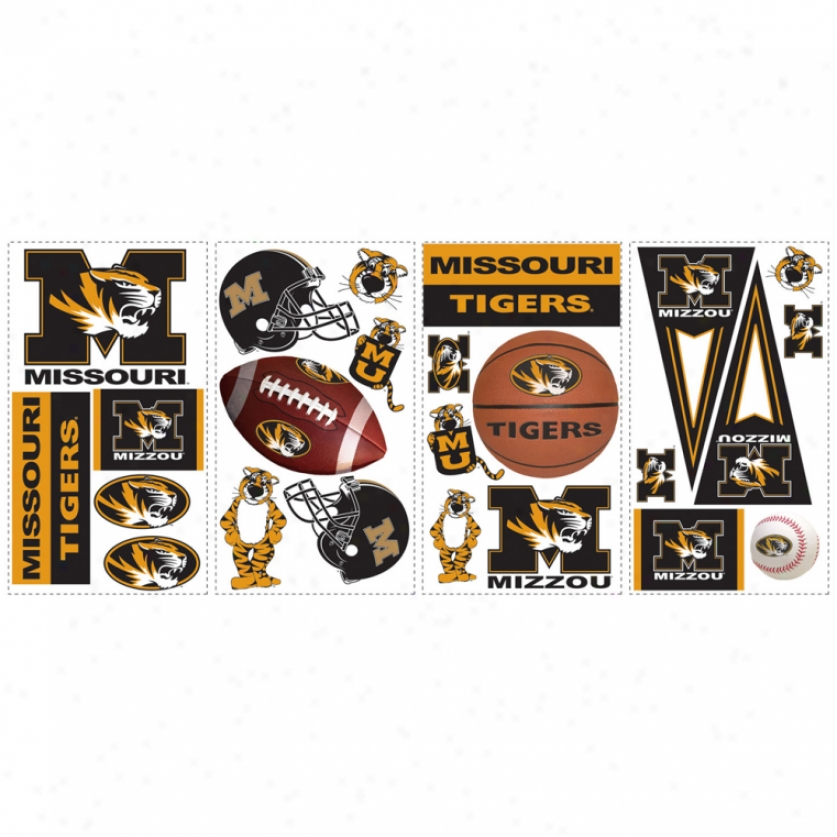 University Of Missouri Wall Decals
