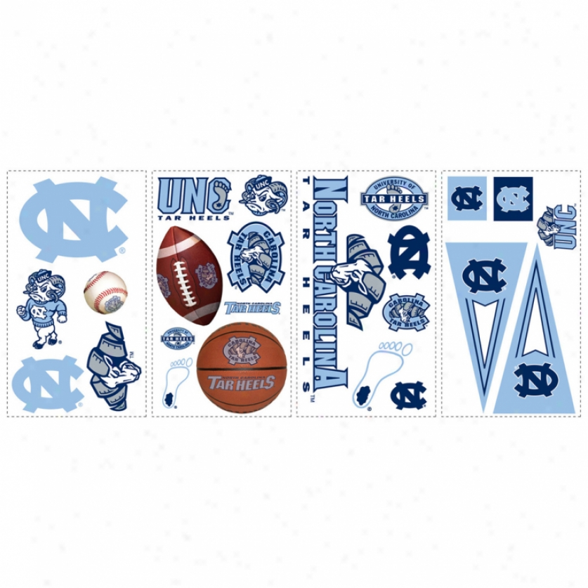 University Of North Carolina Wall Decals