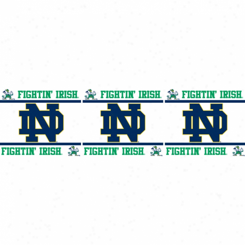 University Of Notre Dame Peel & Stick Border