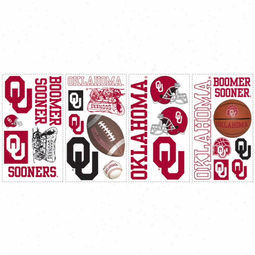 University Of Oklahoma Wall Decals