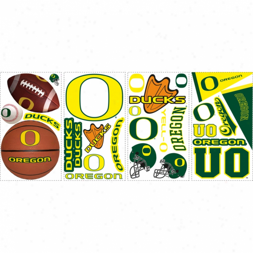 University Of Oregon Wall Decals