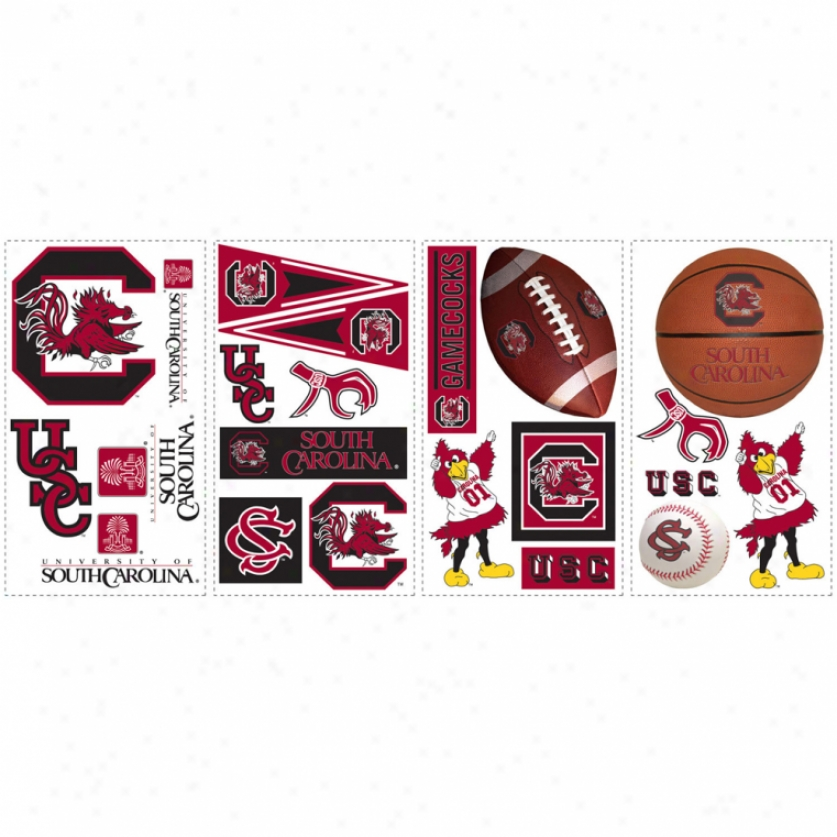 University Of Soufh Carolina Wall Decals