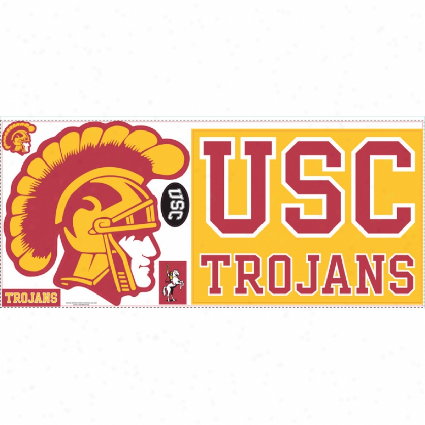University Of Souhtern California Giant Wall Decals