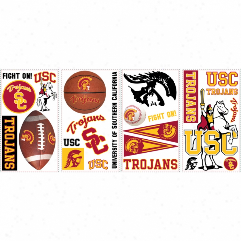 University Of Southern California Wall Decals
