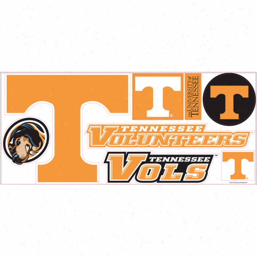 University Of Tennessee Giant Wall Decals